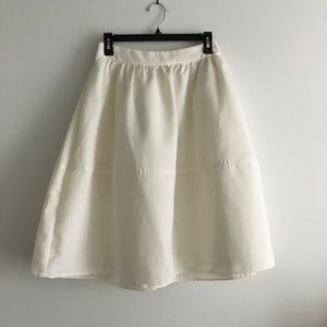 Express A line flare skirt lined
